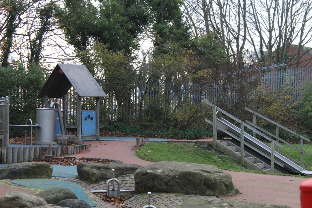 Small Children Play Area - Ridley Park