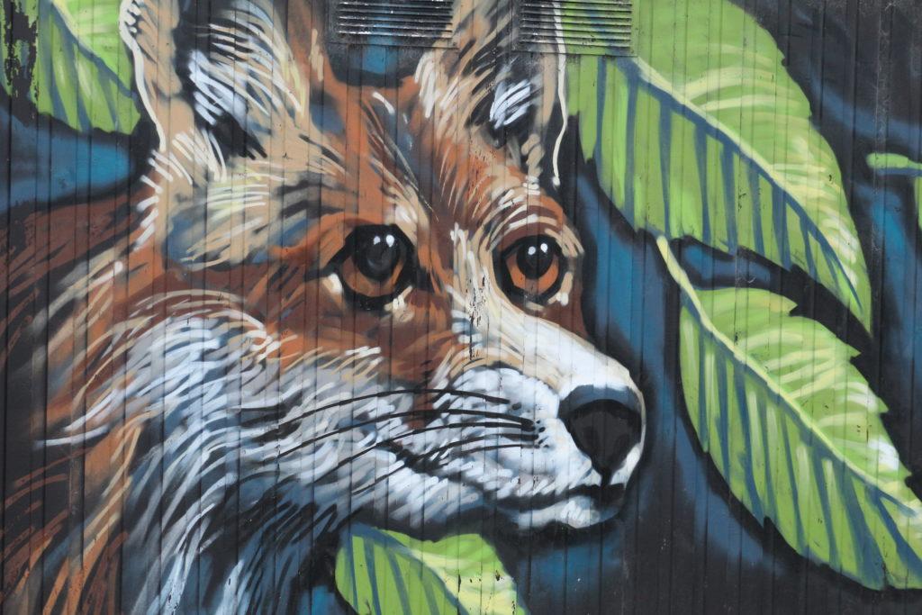 Fox Painting - Blyth Ridley Park