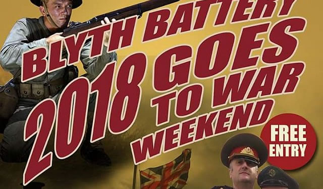 Blyth Battery goes to War weekend 2018