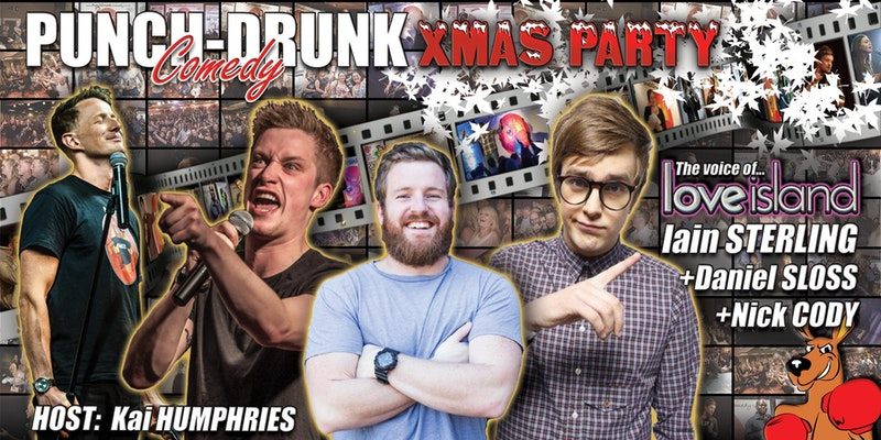 The Punch-Drunk Christmas Party!